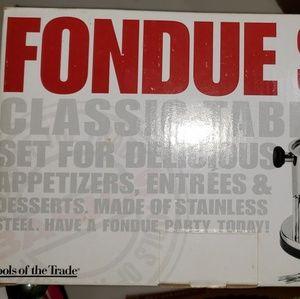 Fondue Set New
